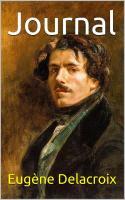 Delacroix eugene journal